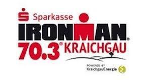 Logo Sparkasse Ironman Kraichgau 70.3 powered by KraichgauEnergie
