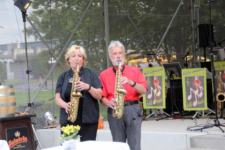 Musikalische Untermalung durch das Ensemble Bella Musica