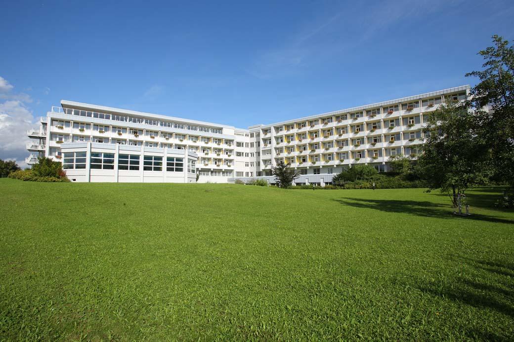Geäbude Gotthard-Schettler-Klinik und Sigmund Weil-Klinik