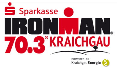 Logo Sparkasse Ironman 70.3 Kraichgau powered by Kraichgau Energie