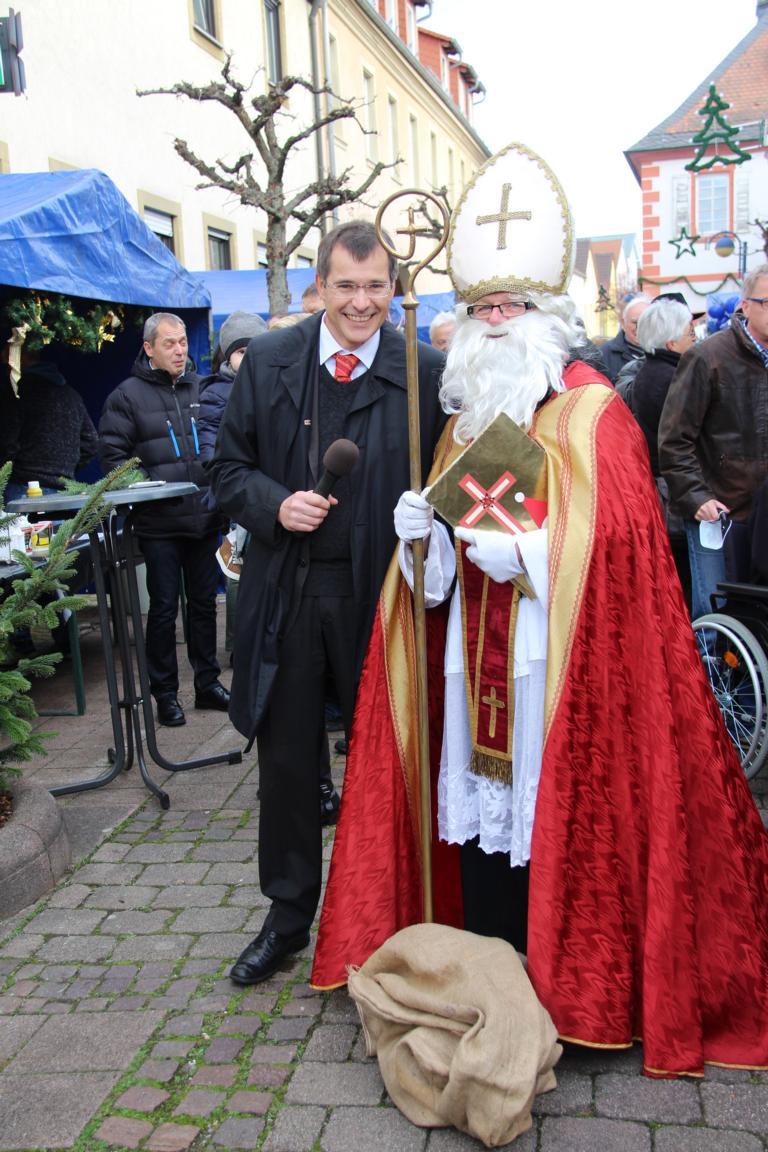 BM Huge und Nikolaus