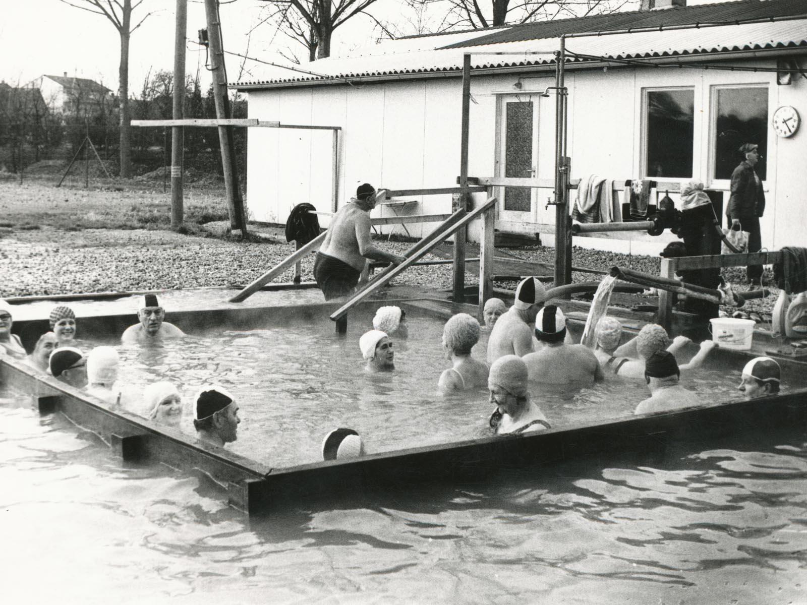 Der provisorische Badekübel