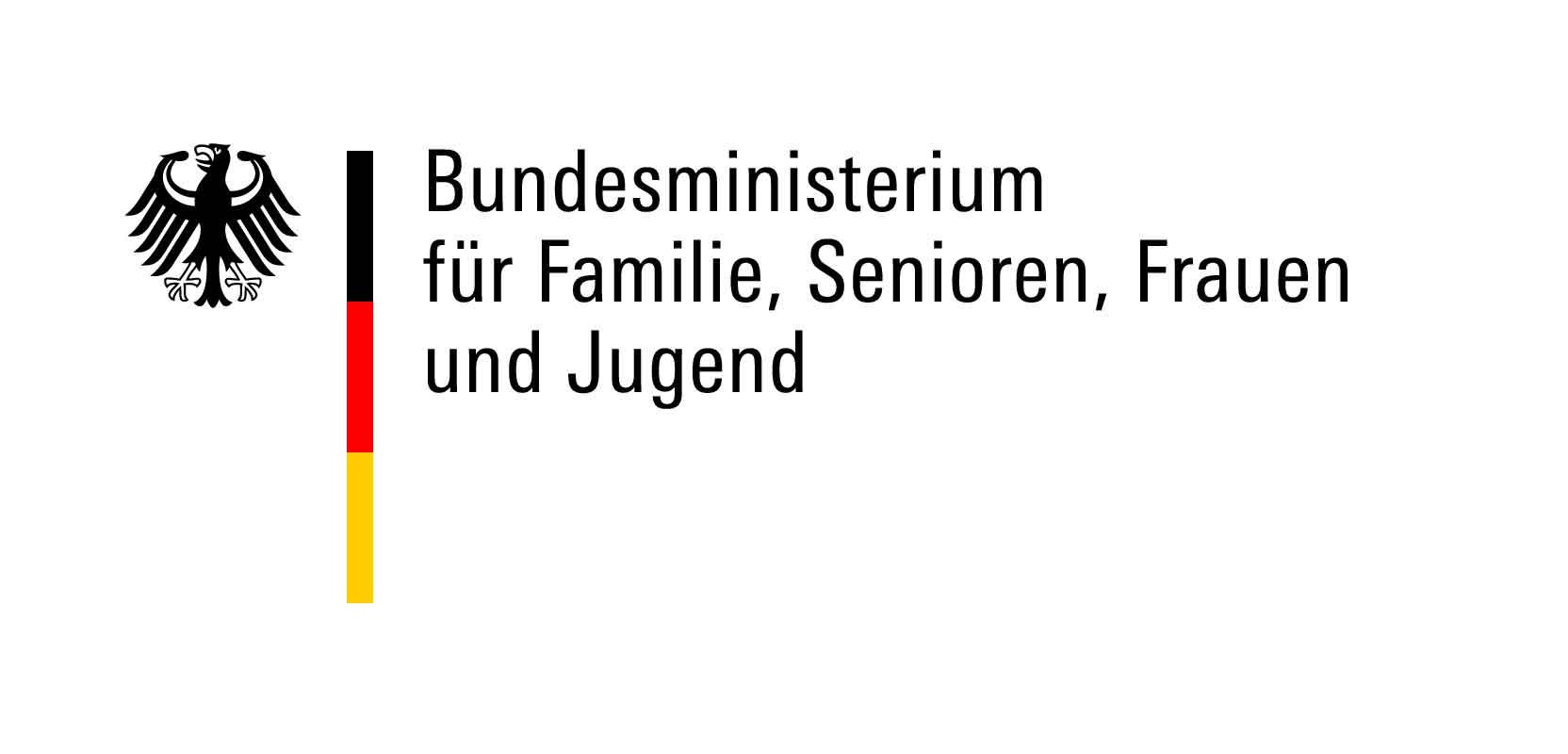 Logo des Förderlogo des Bundesministeriums für Familie, Senioren, Frauen und Jugend (BMFSFJ)