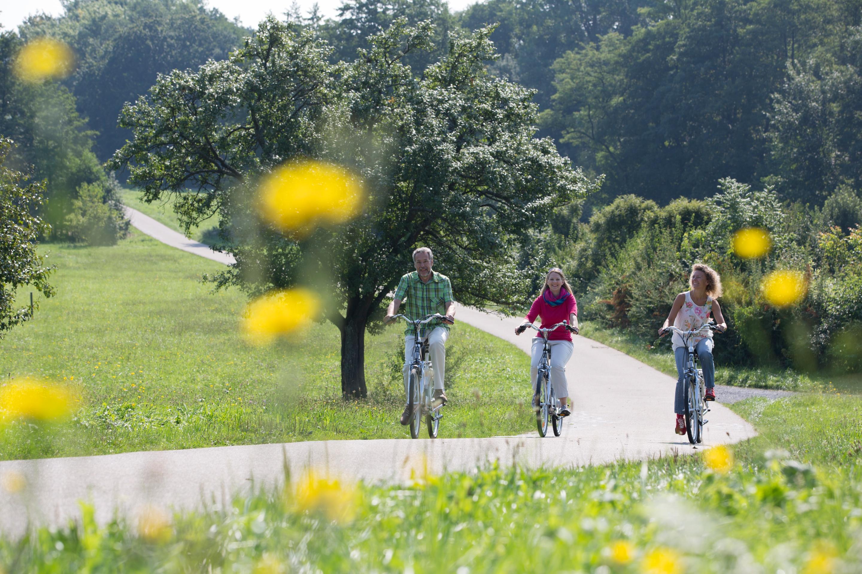 Radfahrer im Kraichgau