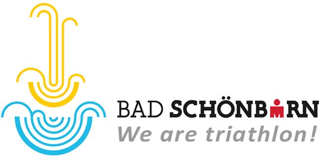 Logo Bad Schönborn - We are triathlon