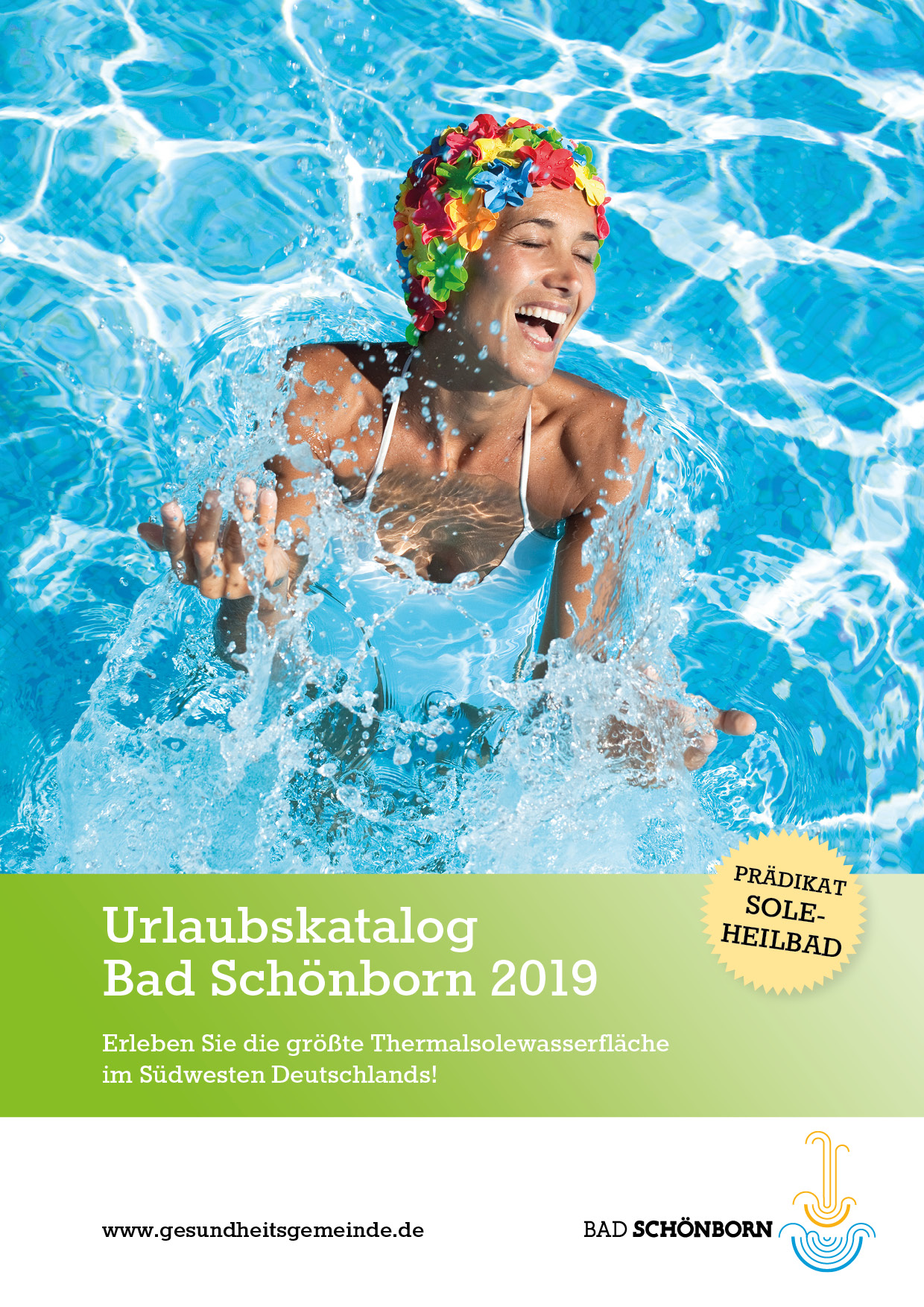Titelseite Urlaubskatalog 2019