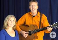 Das Duo Priska und Franz mit Gitarre