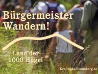 Symbolbild: Bürgermeisterwandern im Land der 1000 Hügel