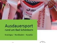 Titelseite Broschüre Ausdauersport rund um Bad Schönborn Kraichgau - Nordbaden - Kurpfalz