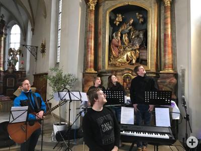 Aufftritt in St. Vitus am 04.03.2017