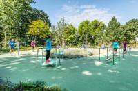 Balanceparcour im Sole-Aktiv-Park Bad Schönborn