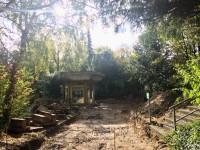 Bauarbeiten am Quellenhaus im Sole-Aktiv Park Bad Schönborn