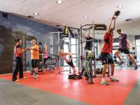 Fitnessbereich im Thermarium Bad Schönborn