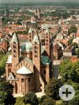 Luftaufnahme Speyer mit Dom