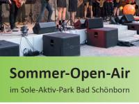 Titelseite der Broschüre Sommer-Open-Air