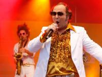Rainer Vollmer von Papi´s Pumpels auf der SWR4 Bühne