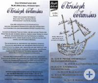 Flyer zur Aufführung Christoph Columbus