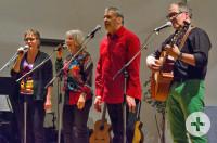Die vier Musiker des Ensembles Mixtour