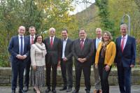 Gruppenfoto - das neue Präsidium des Heilbäderverbandes von Baden-Württemberg