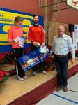 Siegerehrung beim Nikolauslauf 2019 mit Luise Dobmeier und