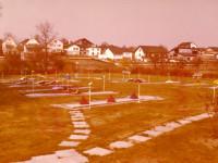 Minigolfplatz in Langenbrücken in 1977