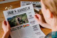 Zeitung zum Thema Fairtrade