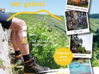 Willst Du mit mir gehen! ...Ja ...Nein ...Nur im Land der 1000 Hügel - 4 Wanderreisen zu gewinnen Neckar-Zaber-Region / 3B-Land / Sachseinheim / Bad Schönborn