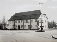 Haus des Gastes Mingolsheim 1991 Außenansicht von der Beethovenstraße kommend