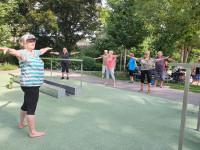 Fitnessgymnastik nach Kneipp mit Brigitte Müller
