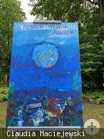 """KuKuK Ausstellung """"Zusammenleben"""" - 2. Bilderzyklus """"Plastozän"""" von Christa Weymann"""