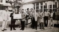 1998 Firma Brombacher spendet an Brunnen