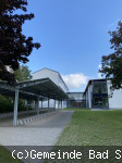 Realschule Bad Schönborn Neubaugebäude mit Fahrradständer