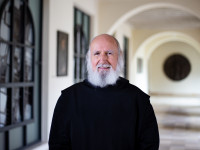 Pater Anselm Grün in der Abtei Münsterschwarzach