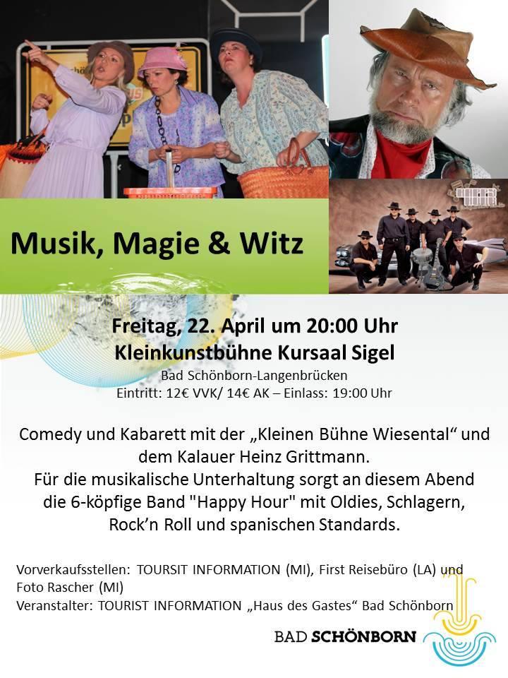 Musik Magie u. Witz