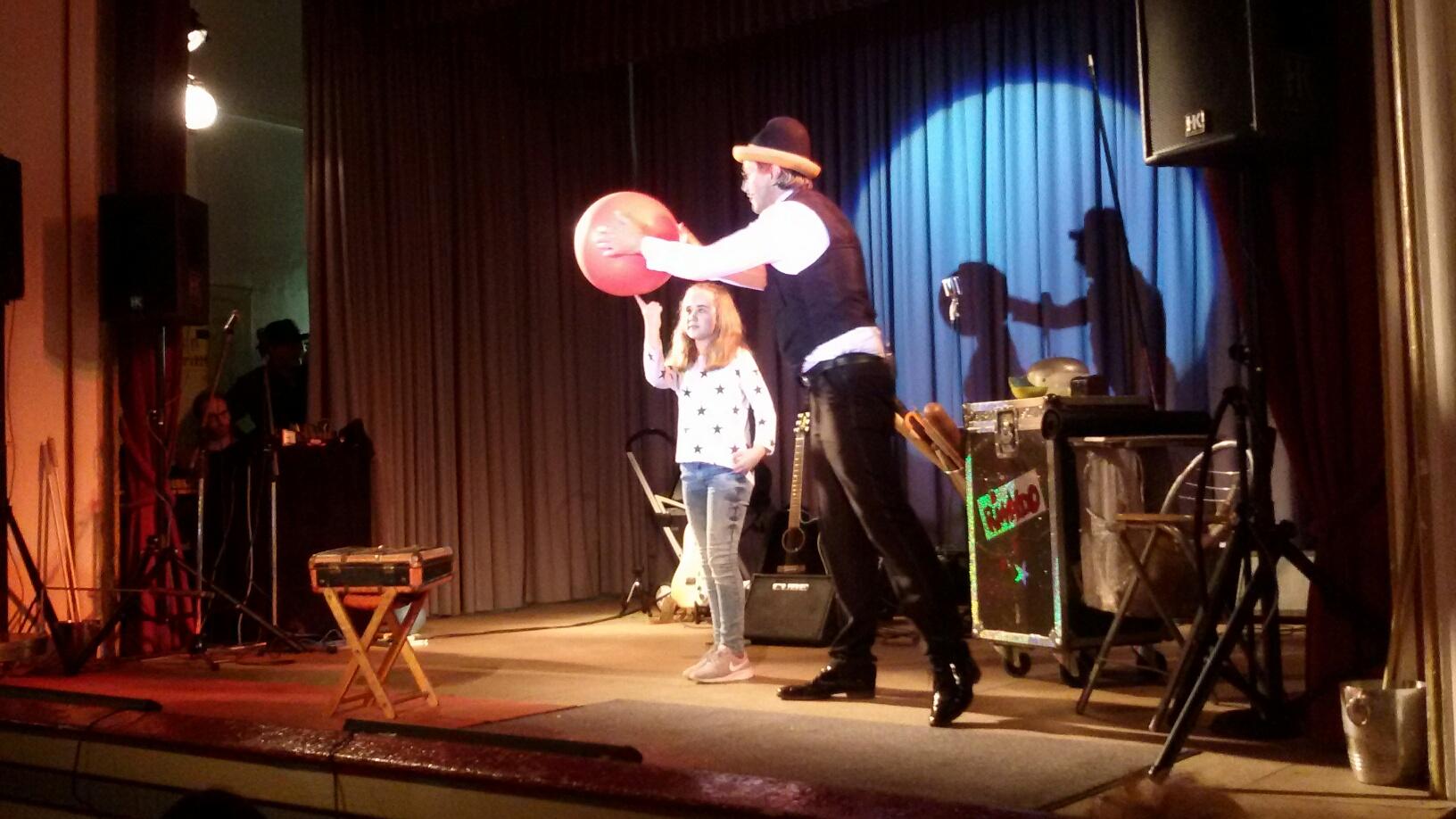 Clown Rinaldo mit Marie Heinzmann