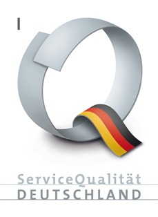 Logo ServiceQualität Deutschland Stufe I