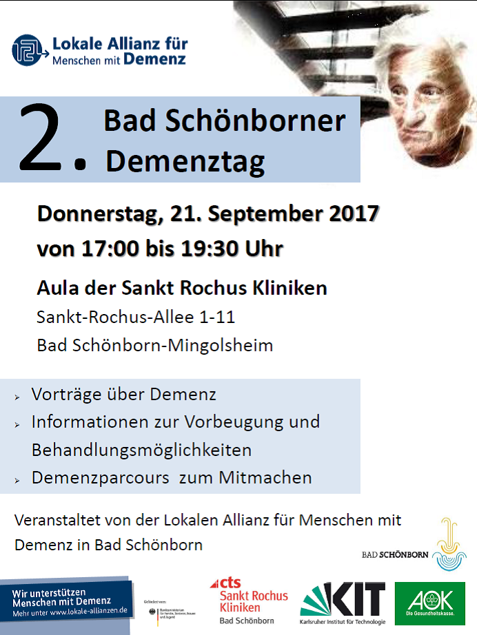 Plakat Demenztag