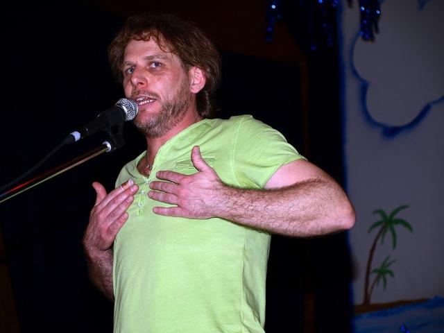 Der Mundart-Kabarettist Heiko Maier