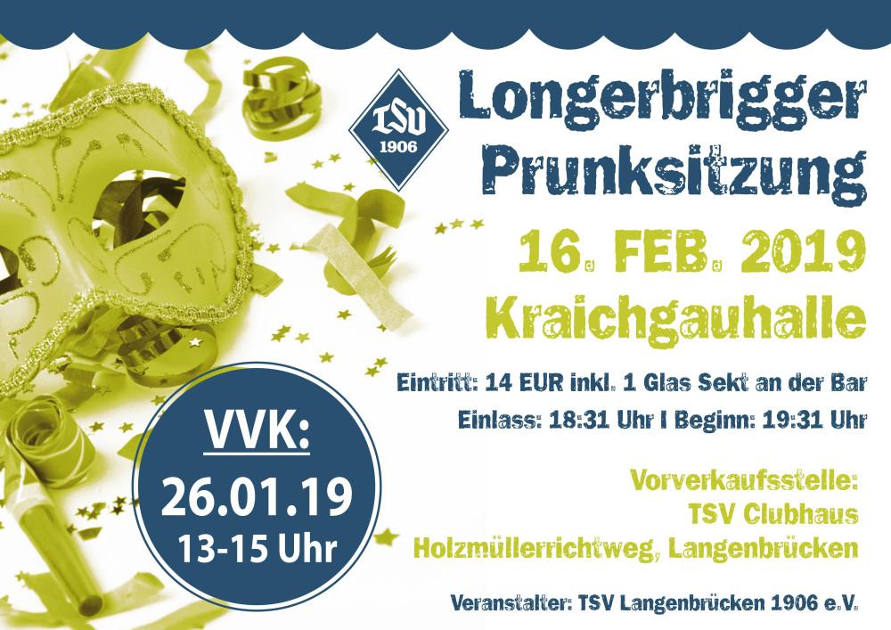 Prunksitzung Langenbrücken