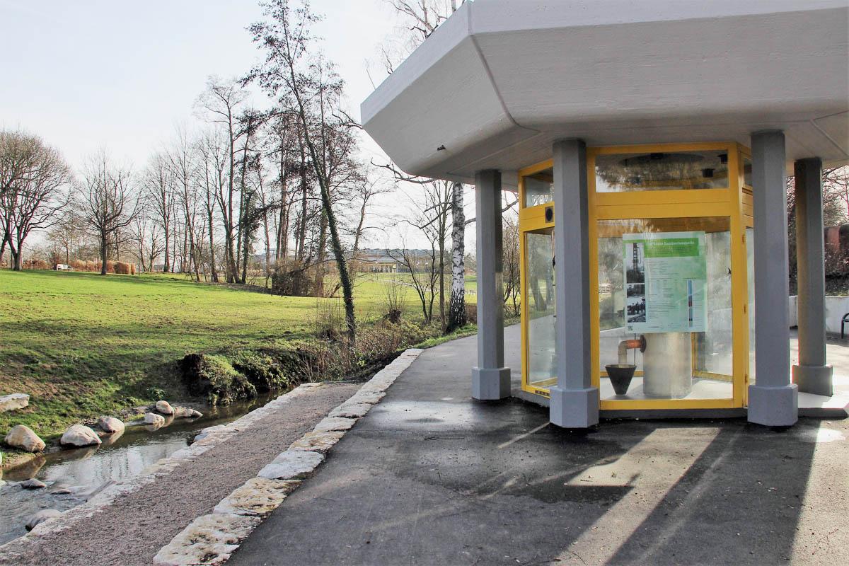 Das Quellenhaus im Sole-Aktiv Park Bad Schönborn