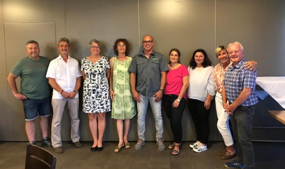SBS Vorsandschaft mit Kassier Schriftführerin und Beisitzern