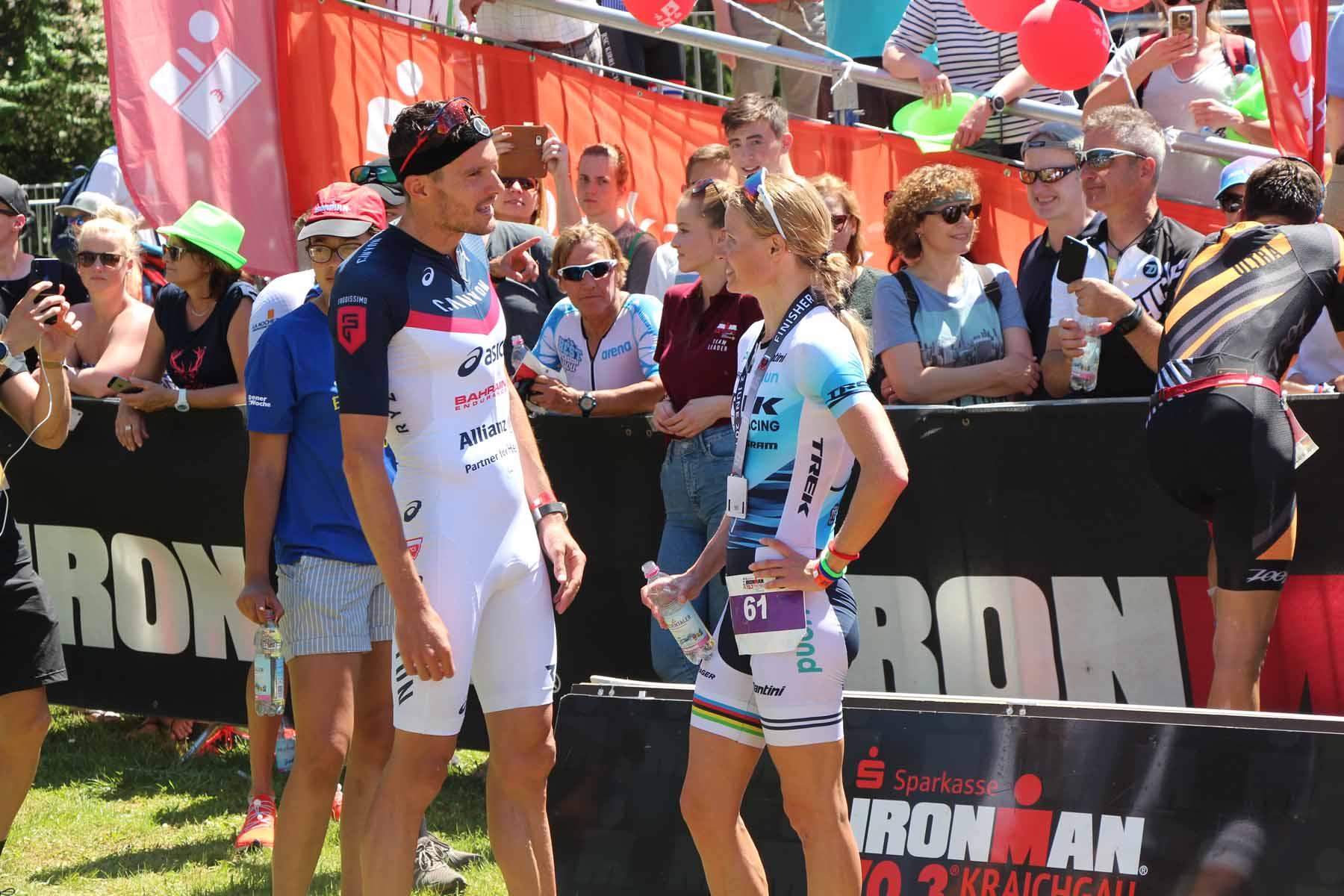 Ironman 2019: Die beiden Sieger Jan Frodeno und Helle Frederiksen imGespräch