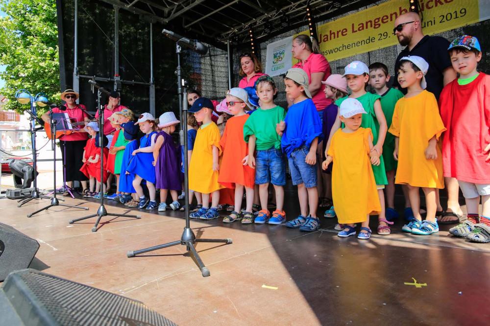 Jubiläumswochenende 750 Jahre Langenbrücken - Familienfest am Sonntag 30. Juni 2019