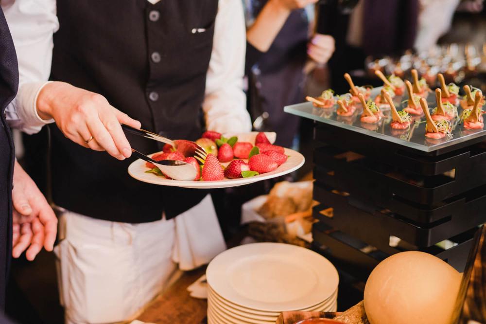 Catering bei Veranstaltung