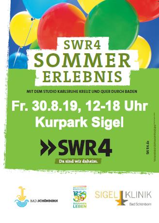 Plakat Sommererlebnis