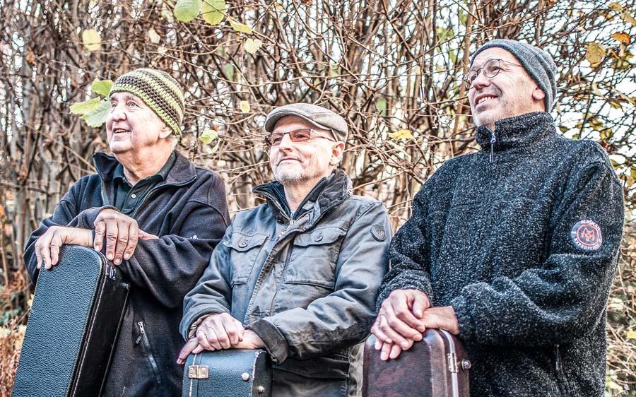 Die drei Musiker von Badisch Talking