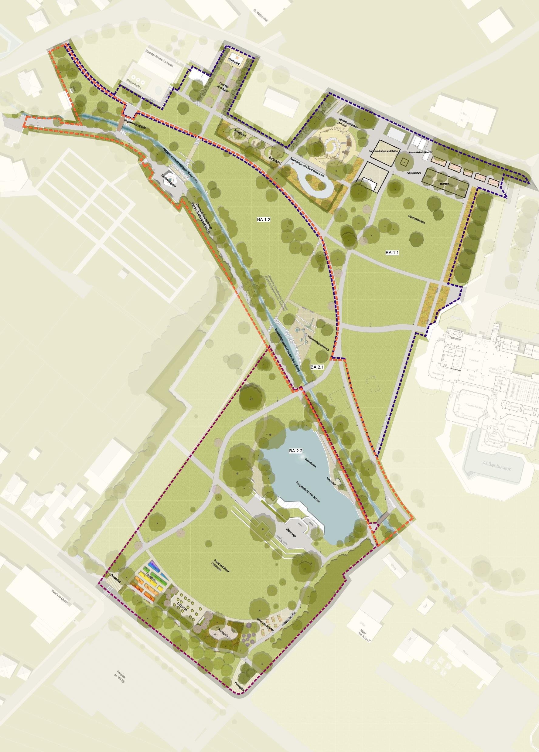 Sole-Aktiv-Park Gesamtplan