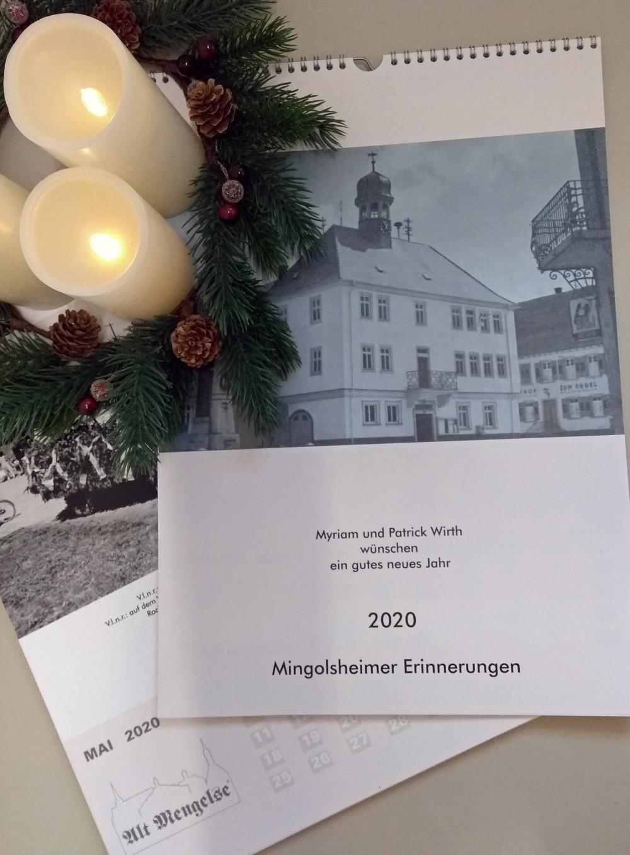 Historischer Kalender 2020 - Mingolsheimer Erinnerungen