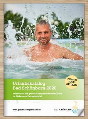 Titelseite Urlaubskatalog Bad Schönborn 2020
