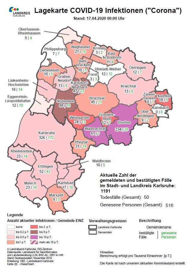 Coronavirus Bad Schönborn